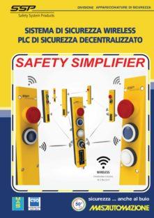 Industria 4.0: SSP – Nuovo sistema di sicurezza Wireless SIMPLIFIER
